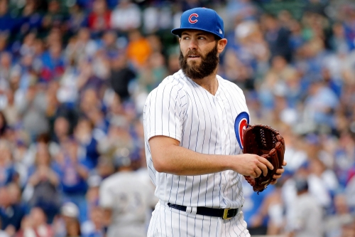 Jake Arrieta finds his groove in Cubs' 13-6 win over Brewers