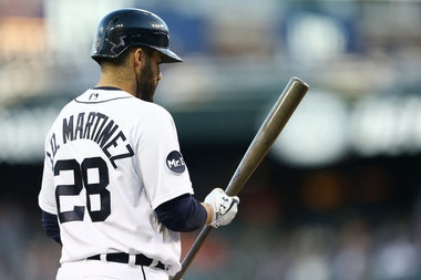 As he prepares to play former team, J.D. Martinez named AL player of the week