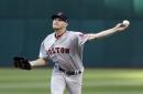 Red Sox to skip Hector Velazquez in rotation; Rick Porcello, Chris Sale, Drew Pomeranz start vs. Texas