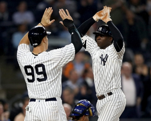 Brett Gardner, Didi Gregorius power Yankees to win over Royals