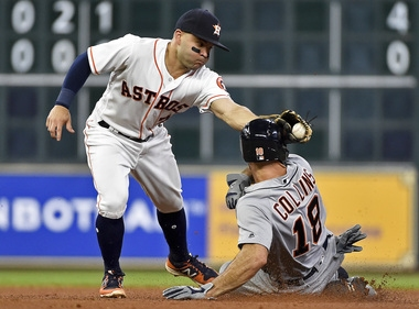 Ice-cold Tigers manage just 1 hit as Astros throw shutout in opener
