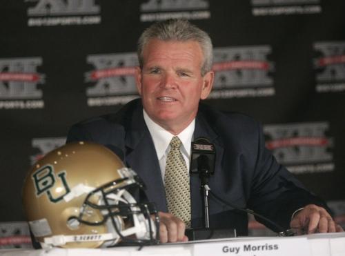 Report: Ex-Baylor coach Guy Morriss battling Alzheimer's