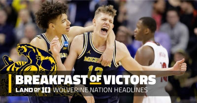 Michigan's D.J. Wilson & Moe Wagner face NBA draft deadline, golf records set on final day of NCAA Championships, and more