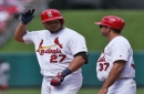 Peralta might be in the mix at 1B; prospect Voit on the rise