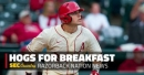 The conference got it wrong: Arkansas' Chad Spanberger bamboozled out of All-SEC honors