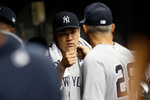 What Masahiro Tanaka is doing to get out of 'deep hole'