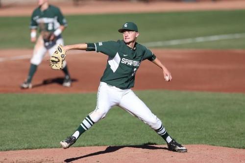Spartan Baseball: Alex Troop receives Big Ten Pitcher of the Week honors