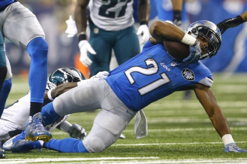 Ameer Abdullah participates in first round of Lions OTAs