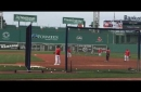 Sam Travis promoted: Red Sox plan to hit Travis vs. left-handers, Mitch Moreland vs. right-handers (video)