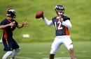 Broncos OTAs have familiar feel as QBs Trevor Siemian, Paxton Lynch share spotlight