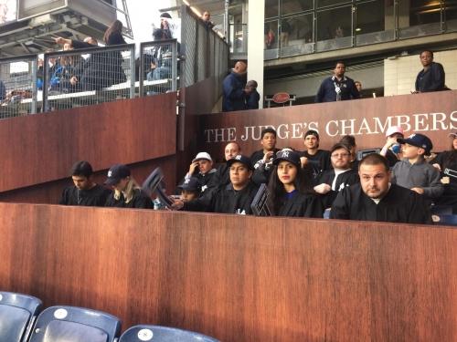 New Yankee Stadium fan section honoring Aaron Judge a bit early