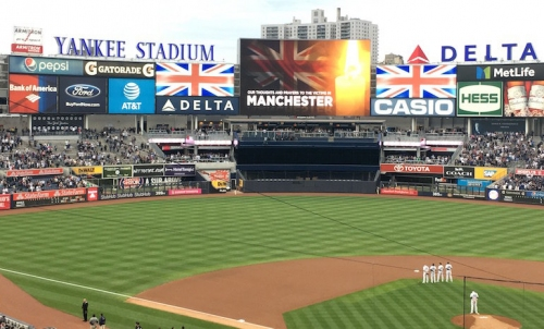 WATCH: Yankees play