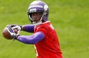 Teddy Bridgewater takes the field with Vikings for OTAs
