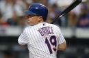 Jay Bruce leaves Mets game with back tightness