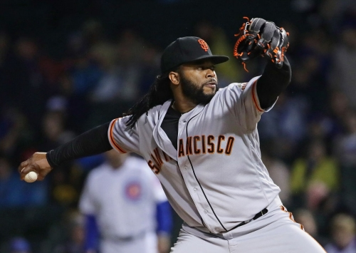 Cueto gives up three homers, Giants lose to Cubs at Wrigley