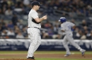 Yankees' pen blows Jordan Montgomery's best outing in 6-2 loss