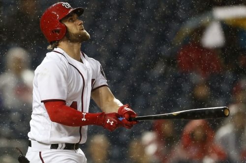 Bryce Harper may have actually just hit a home run to outer space