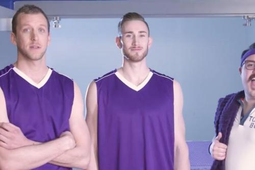 Gordon Hayward's sponsor Purple Mattress had a controversy about white powder and boy is it wild.