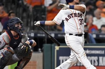 Centeno's homer helps Astros over Tigers 6-2 (May 23, 2017)