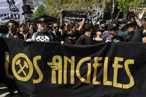 Some Angelino MLS fans want a tagging war