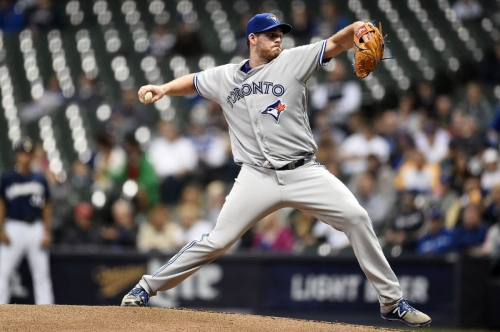 Biagini, Bautista and Blue Jays bullpen beat Brewers: Griffin