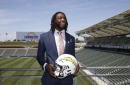Chargers coach says first-round pick Mike Williams is 'getting behind' due to back injury