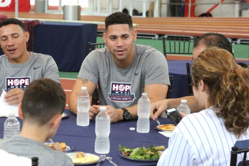 How Yankees gave to disabled kids — who gave right back