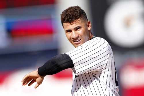 Gleyber Torres officially putting the heat on Chase Headley