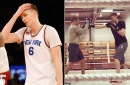How Kristaps Porzingis is channeling his frustration