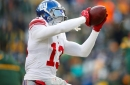 Odell Beckham catching passes from Johnny Manziel, not Eli Manning