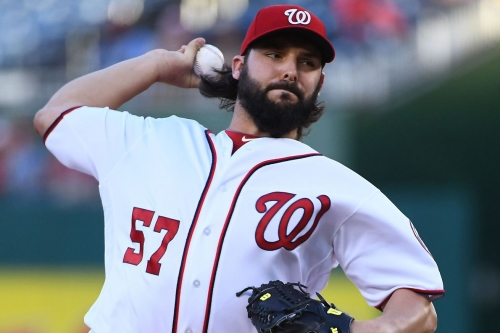 Washington Nationals' lineup for 2nd of 3 with Seattle Mariners in D.C.