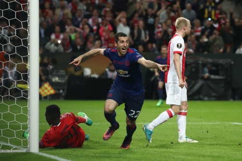 VIDEO: Mkhitaryan doubles United's lead in the Europa League final