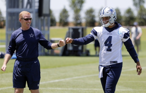 He's got the reps: Prescott takes offseason lead for Cowboys The Associated Press