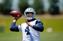 How Dak Prescott's growth as a player and a leader is apparent at Cowboys OTAs