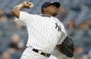 Yankees get gem from Luis Severino, but Jacoby Ellsbury concussed in win