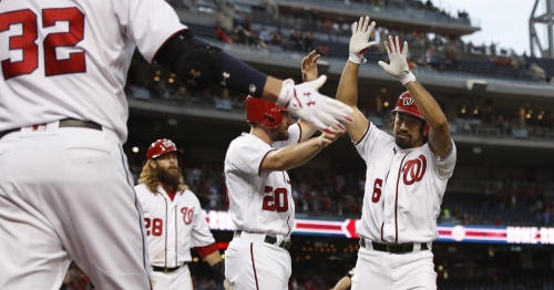 Mariners bats stay quiet in 5-1 loss to Nationals