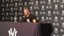Video: Girardi on Ellsbury's injury