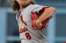 Leake pitches eight strong innings while offense walks to first in 6-1 win