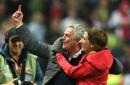 Manchester United manager Jose Mourinho explains Europa League final celebration