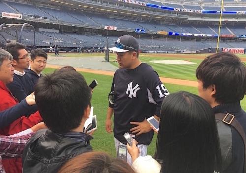 Why Yankees' Joe Girardi brought up Spiderman while discussing Masahiro Tanaka's health