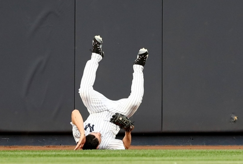 Yankees should've pulled Jacoby Ellsbury right after wall crash