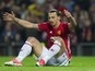 Zlatan Ibrahimovic coy on Manchester United future