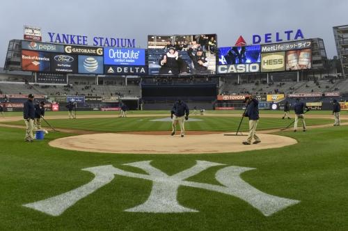Yankees' series finale vs. Royals postponed due to rain