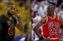 Proof that LeBron James faced tougher playoff competition than Michael Jordan
