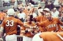 Texas takes down OU 8-4, will play Kansas tonight at 7:30