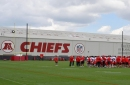 Andy Reid reminds us a few times that Chiefs practice is voluntary right now