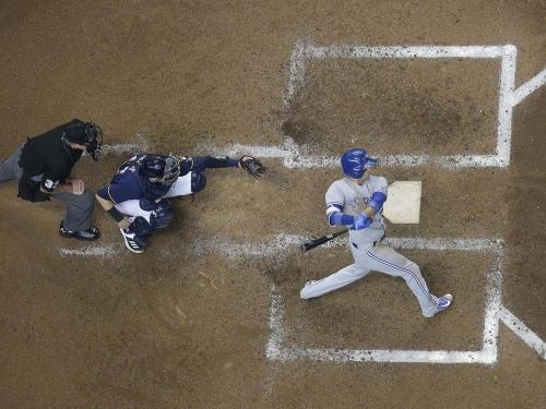Ryan Goins bashes grand slam as Toronto Blue Jays lock down mini-sweep of Milwaukee Brewers