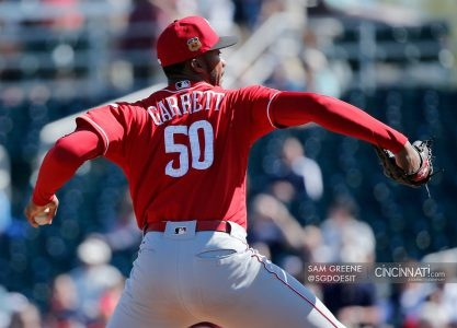 Amir Garrett to DL; Reds claim Jake Buchanan