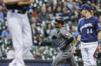 Brewers' Davies out-pitched by Diamondbacks' Ray in series-opening loss