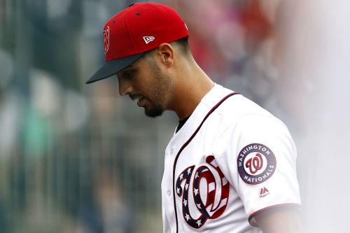 Dusty Baker on lifting Gio Gonzalez; home run that followed in Nationals' 4-2 loss to Mariners